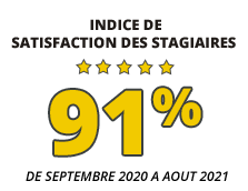 Satisfaction stagiaires